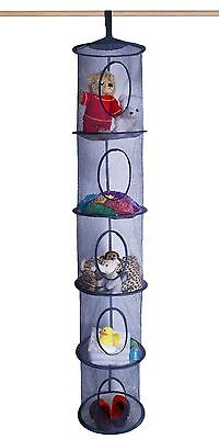 5 Tier Hanging Storage Organizer   Kids or Adults   Assorted Colors