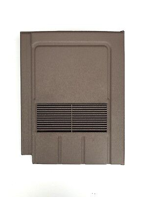 Roof Tile Vent To Fit Marley Edgemere, Lagan Galloway | Brown | 8 Colours
