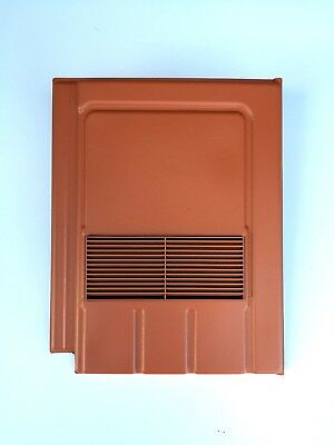 Roof Tile Vent To Fit Marley Edgemere, Lagan Galloway | Terracotta | 8 Colours