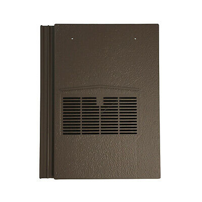 Roof Tile Vent To Fit Marley Modern, Redland Mini Stonewold | Brown | 10 Colours