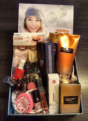 "Müller Look-Box ""All I want for Christmas 2017"" Dez. 2017, Warenwert über 84€"