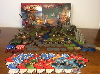 heroscape 100% Complete rise of the valkyrie Master Set