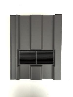 Roof Tile Vent To Fit Marley Ludlow Major | Grey Smooth | 10 Colours Available