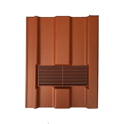 Roof Tile Vent To Fit Marley Ludlow Major | Terracotta Smooth | 10 Colours