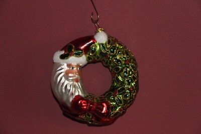 Slavic Treasures Mouth Blown Glass Ornament Made in Poland