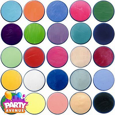 18ml Snazaroo Face & Body Paints Stage Make Up All Colours Fancy Dress Makeup