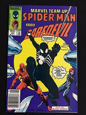 Marvel Team-Up #141 w/ Spider-Man - DareDevil MIGNOLA KEY (1st Black Costume) VF