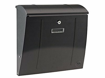 YALE DELAWARE STEEL (BLACK) MAILBOXES Nuovo Bricolage 5011802196209