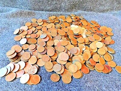 Roll of Canadian Pennies...50 coins