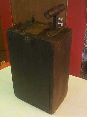 Antique Reliable Blasting Machine No 3 Dynamite Plunger