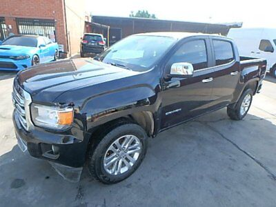 2016 GMC Canyon SLT Salvage Repairable 4WD 3.6L V6 2016 GMC Canyon SLT Crew Cab Drives In Lot w/ Good Cooling! Unbeatable Price!!
