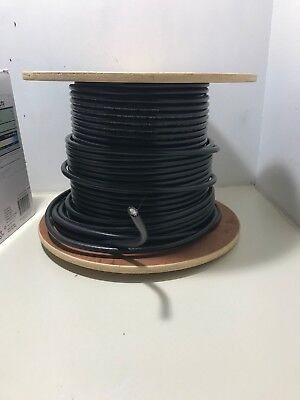 Southwire RG6 Quad Shield Coax Cable Black 256' #56918445 New on Spool