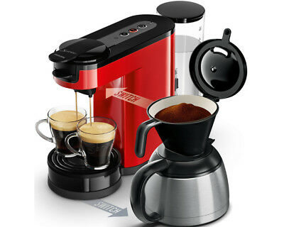 hd7892 80 senseo switch kaffee padautomat rot filterkaffee neu ovp eur 79 40 picclick de. Black Bedroom Furniture Sets. Home Design Ideas