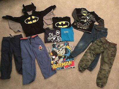 Boys Bundle Clothing 5-6 Batman, Salt Rock, Some Brand New!