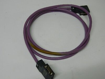 SIMATIC NET profibus cable AB Communication cable 2 Plugs cable about 6ft
