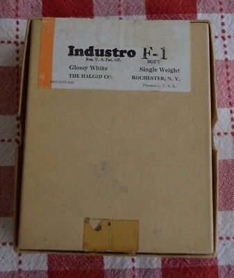 Haloid Industro 4x5 Contact Photo Printing Paper F1 144 ct. Exp 1948