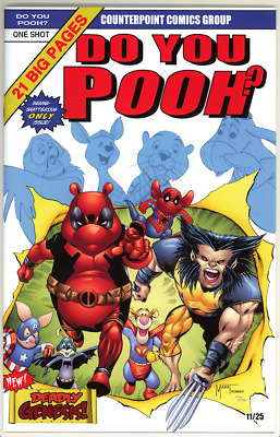 Do You Pooh #1 NJCE Exclusive - Giant Size X-Men #1 Homage -11 of 25 - Deadpool