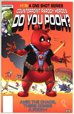 Do You Pooh #1 Terrificon Exclusive - Secret Wars #8 Homage 9 of 25 -Deadpool
