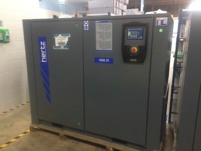 50 HP Hertz HDD-37 Rotary screw air compressor