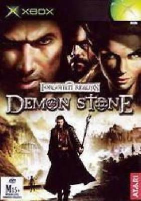 DEMON STONE   Microsoft Xbox Game PAL + Booklet