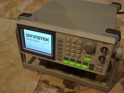 GW Instek AFG-2225 Function Generator Arbitrary 2 Channel 25 MHz, RRP £599