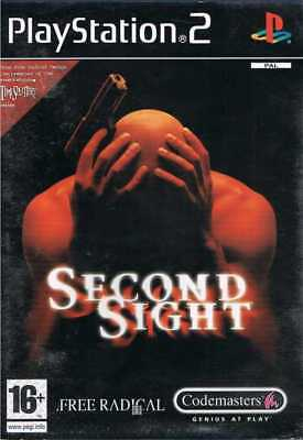 SECOND SIGHT Sony Playstation 2 PS2 Game PAL + Booklet