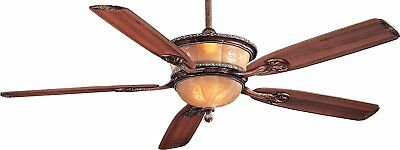"""Minka-Aire F820-CT, Santa Lucia, 60"""" Ceiling Fan with Light, Cattera Bronze"""