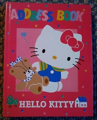 1987 Hello Kitty Address Book