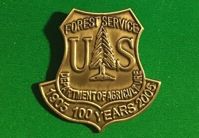 Forest Service 1905-2005 ~ US Forest Service ~USDA- 100th Anniversary pin NEW