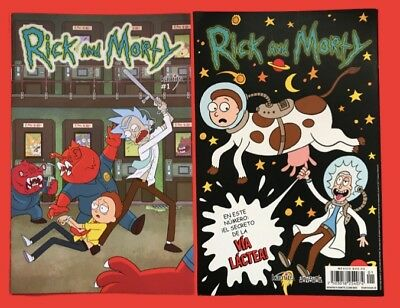 Rick and Morty #1 1st print Oni Press Mexico Spanish Edition