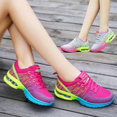 Women's Sports Shoes Casual Sneakers Athletic Running Shoes Outdoor Breathable
