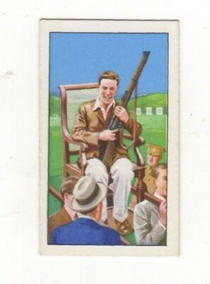 Gallahers Shooting Card #25. Kings Prize D.E. Woods