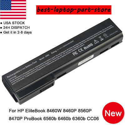 Battery for HP EliteBook 8460p 8460w 8470p 8470w 8560p 8570p HSTNN-I91 Lot