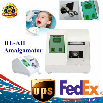 110V HL-AH High Speed Amalgamator Amalgam DIGITAL Capsule Mixer Dental Lab CE