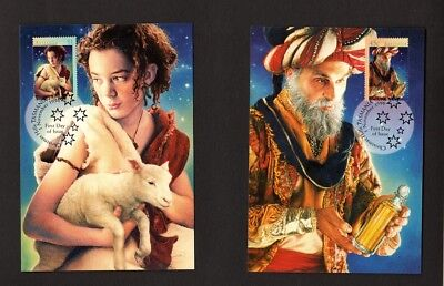 Australia Maxi/Postal Cards Christmas 1996 Set of 3