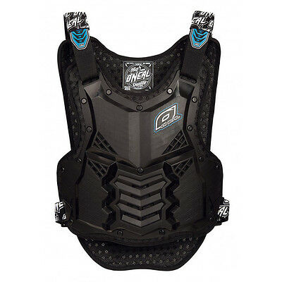 NEW ONEAL RACING HOLESHOT BLACK Adult Body Armour Chest Protector MX SX Moto