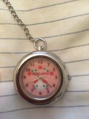 hello kitty pocket watch
