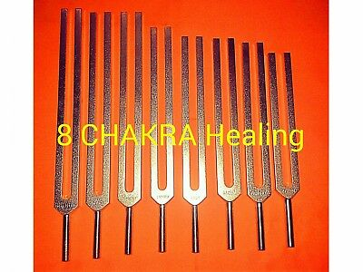 8 Chakras Tuning fork including soul purpose+ Activator