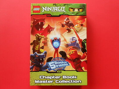 Ninjago - Masters Of Spinjitzu - Chapter Book Master Collection Lego **like New