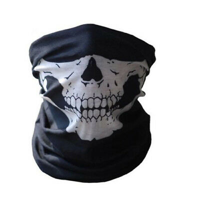 Cool Tubular Skull Mask Bandana Motorcycle Sport Scarf Face Neck Warmer