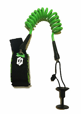 Deluxe Biceps Coiled Leash Sniper Black Green