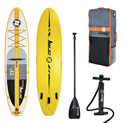 Pack Stand Up Paddle ZRay SUP A4 11'6