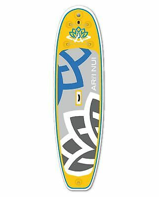 """Planche de Stand Up Paddle 10'2"""" Biggie Yellow/Blue"""