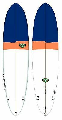 Planche De Surf Venon Egg Navy Orange White 7'6""