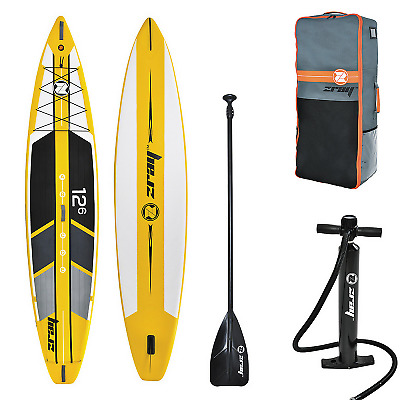 Pack Stand Up Paddle ZRay SUP R1 12'6