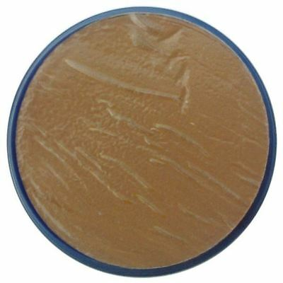 Snazaroo 18ml CLASSIC BEIGE BROWN Fancy Dress Party Stage Make Up Halloween