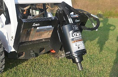 Bobcat Skid Steer Lowe BP210 Auger Drive Post Hole Digger Unit - Free Shipping
