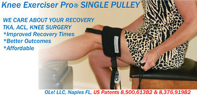 Knee Exerciser Pro, Knee Pulley, Knee Replacement, Knee Surgery, Knee Therapy