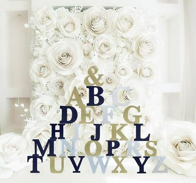 Contemporary 6inch Wooden Letters Free-standing Alphabet /Name /Door /Craft/Sign