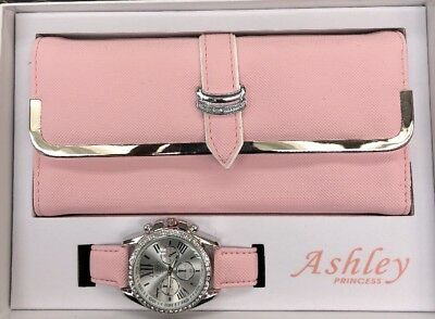 Ladies Ashley Purse And Watch Set
